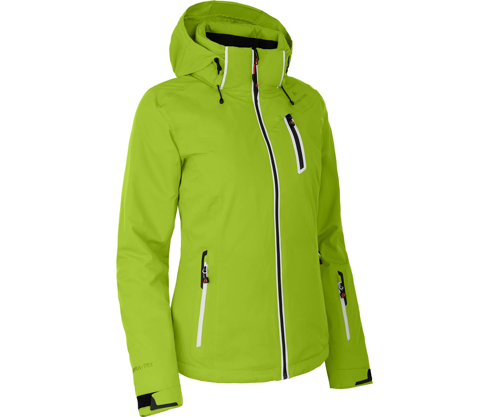 Bergson Damen Skijacke NICE lime grün