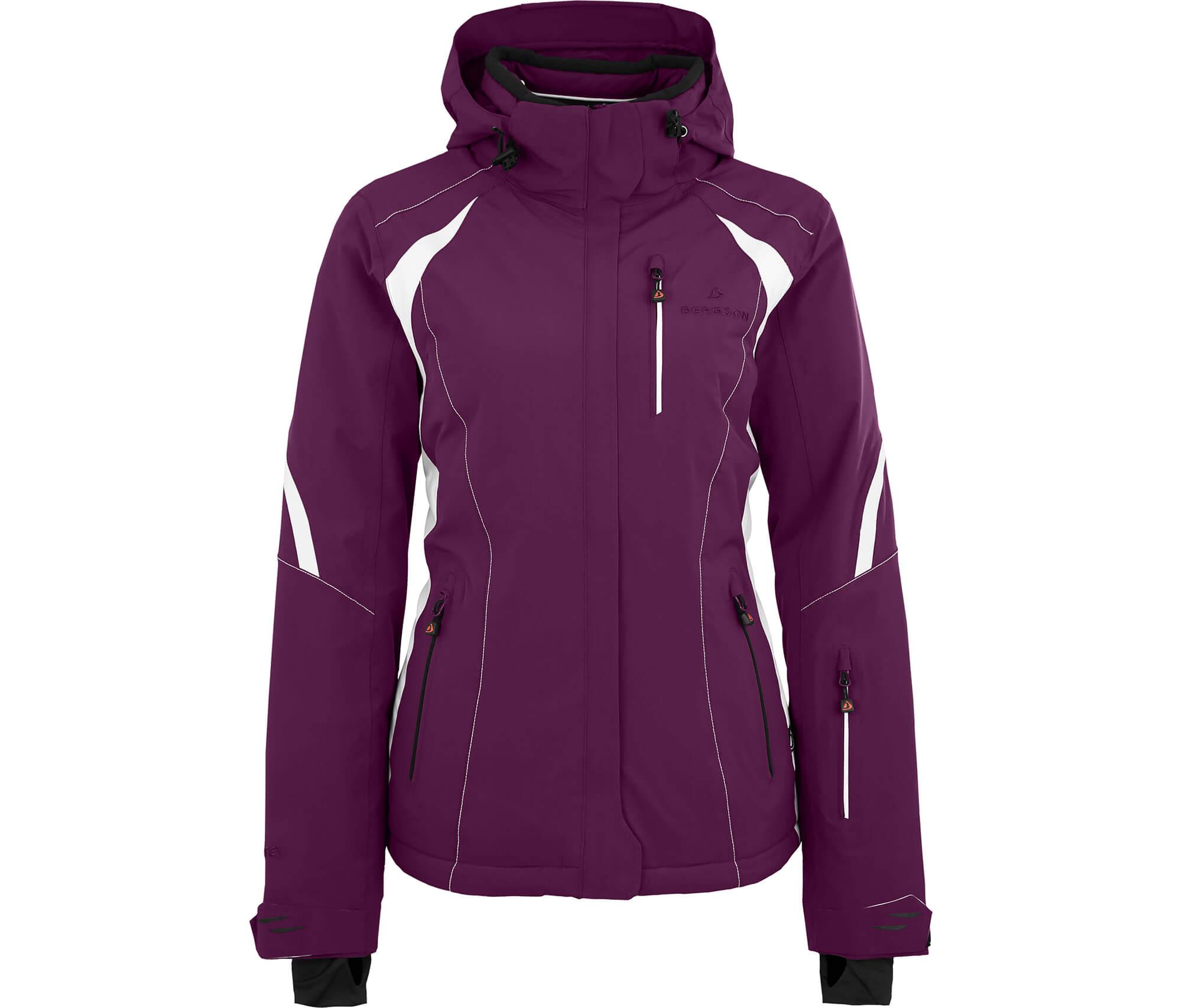 Bergson Damen Skijacke SNOWTASTIC dunkel violett
