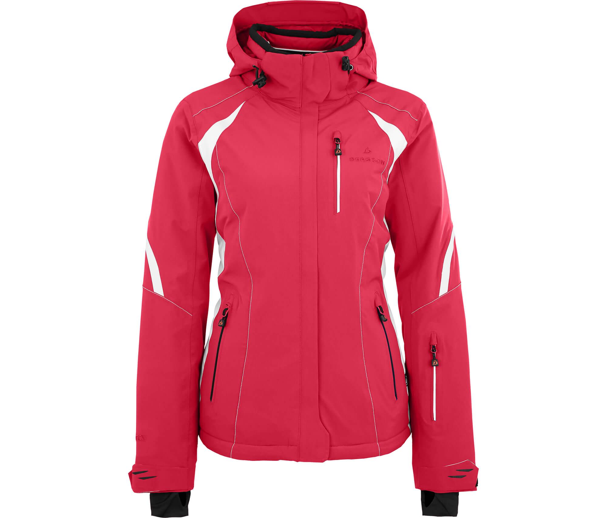 Bergson Damen Skijacke SNOWTASTIC pink