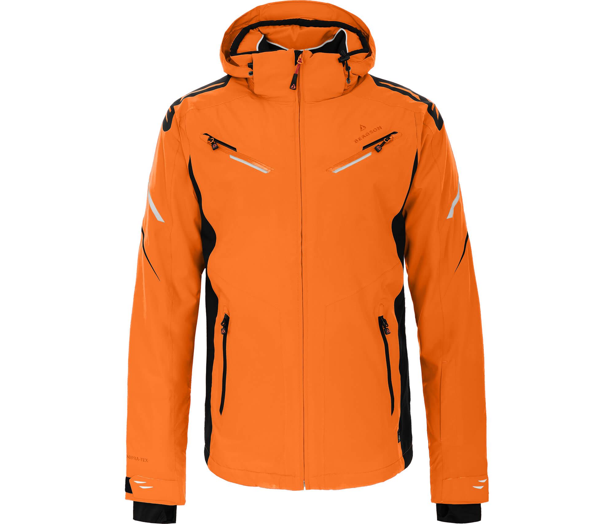 Bergson Herren Skijacke DISTRICT orange