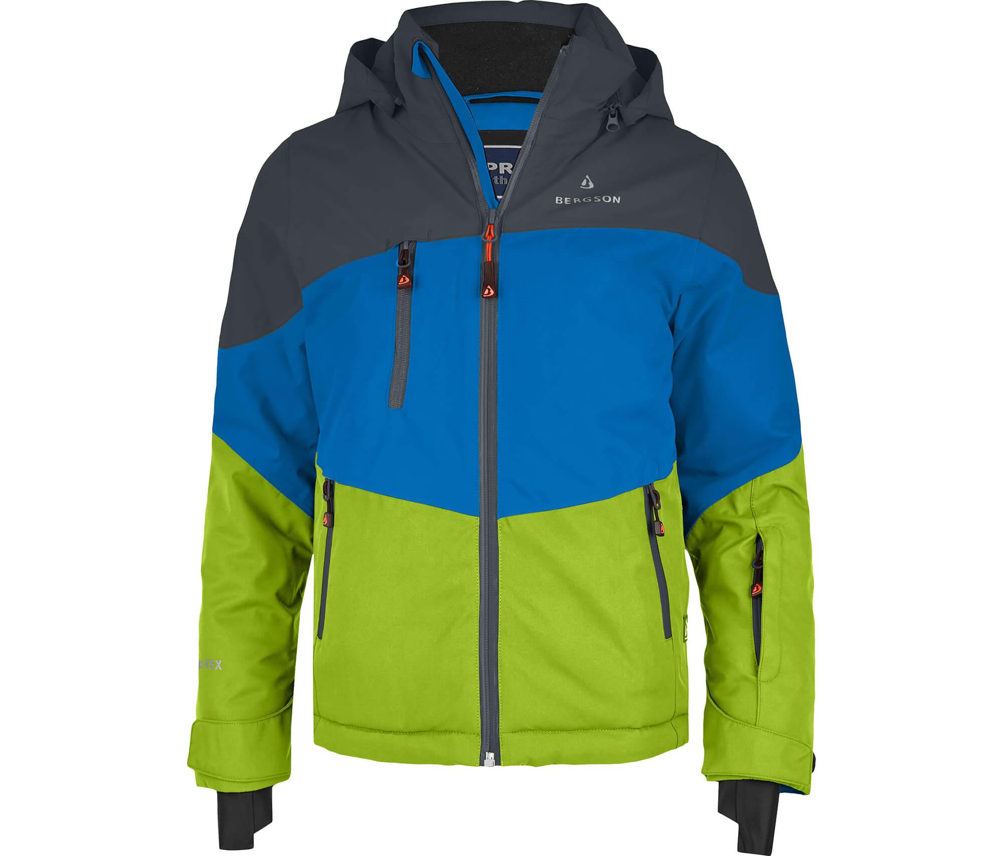 Bergson Kinder Skijacke VOLKER blau