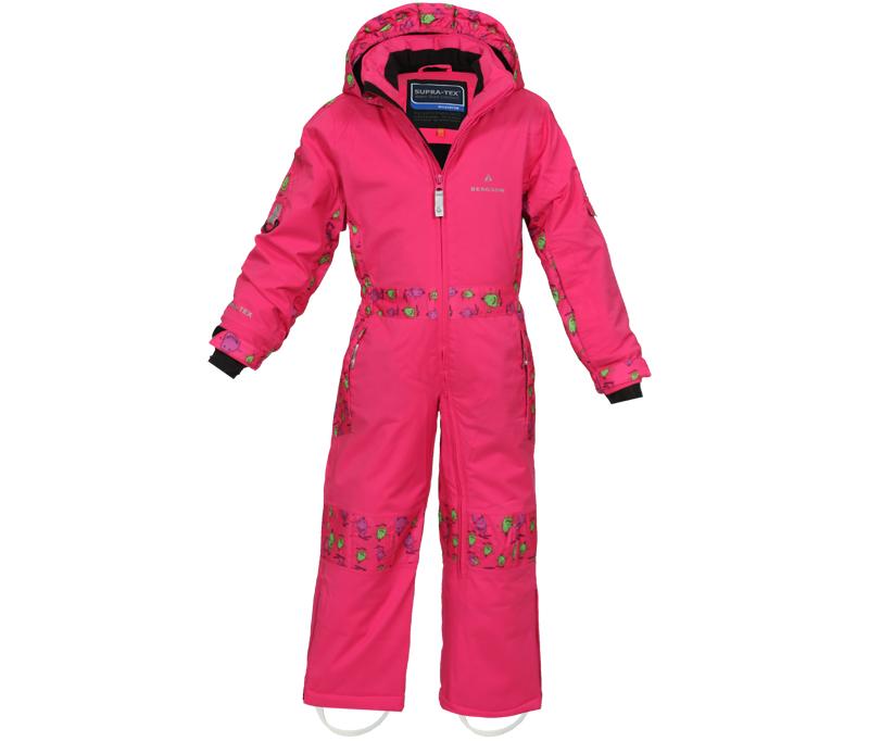 bergson kinder skianzug blob pink bergson. Black Bedroom Furniture Sets. Home Design Ideas