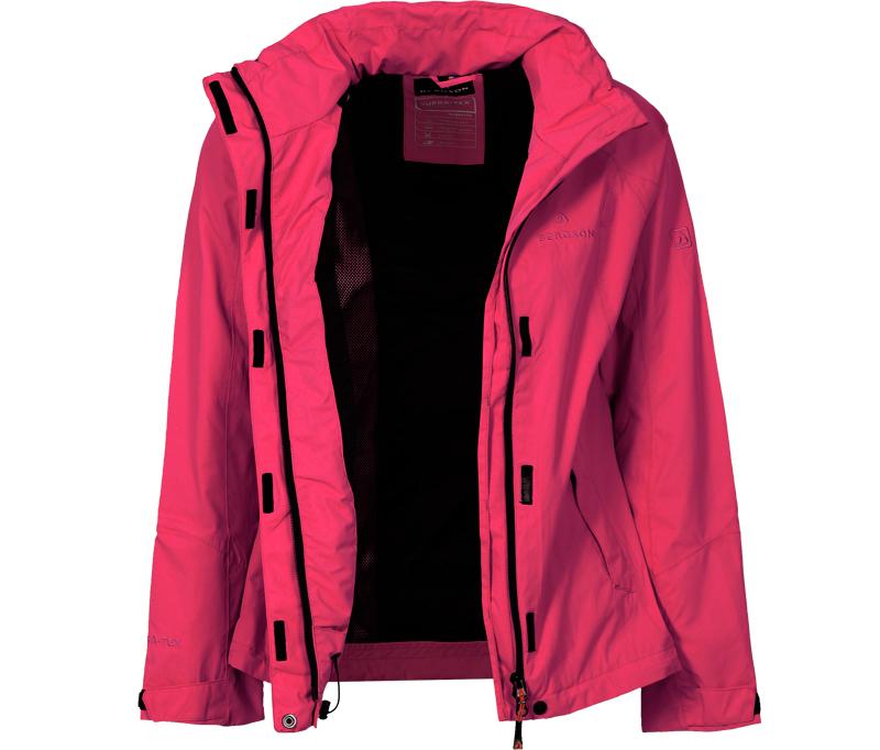 bergson damen funktionsjacke rockrider pink bergson. Black Bedroom Furniture Sets. Home Design Ideas