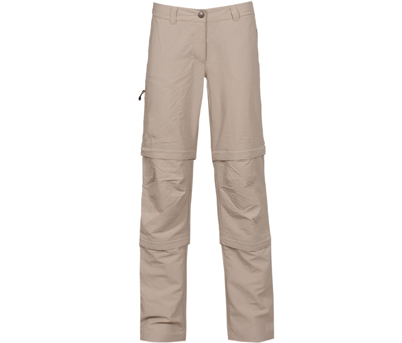bergson damen doppel zip off hose renwick hell beige eur 54 99 outdoorbekleidung. Black Bedroom Furniture Sets. Home Design Ideas